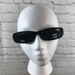 Women's Black Frame Fashion Sunglasses